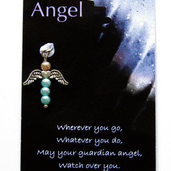 Purse Angel - Silver wings