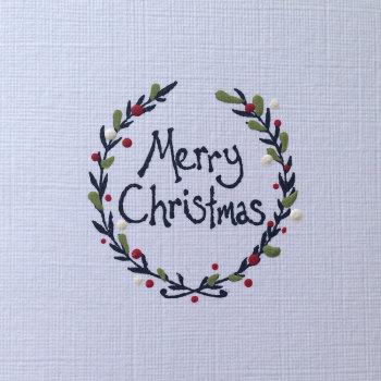 Christmas Card - Wreath