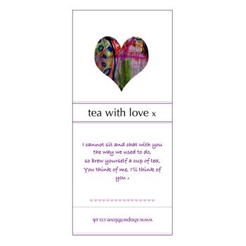 Tea with Love - Heart