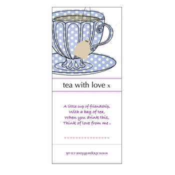 Tea with Love - Spotty cup