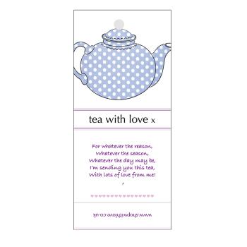 Tea with Love - Spotty teapot