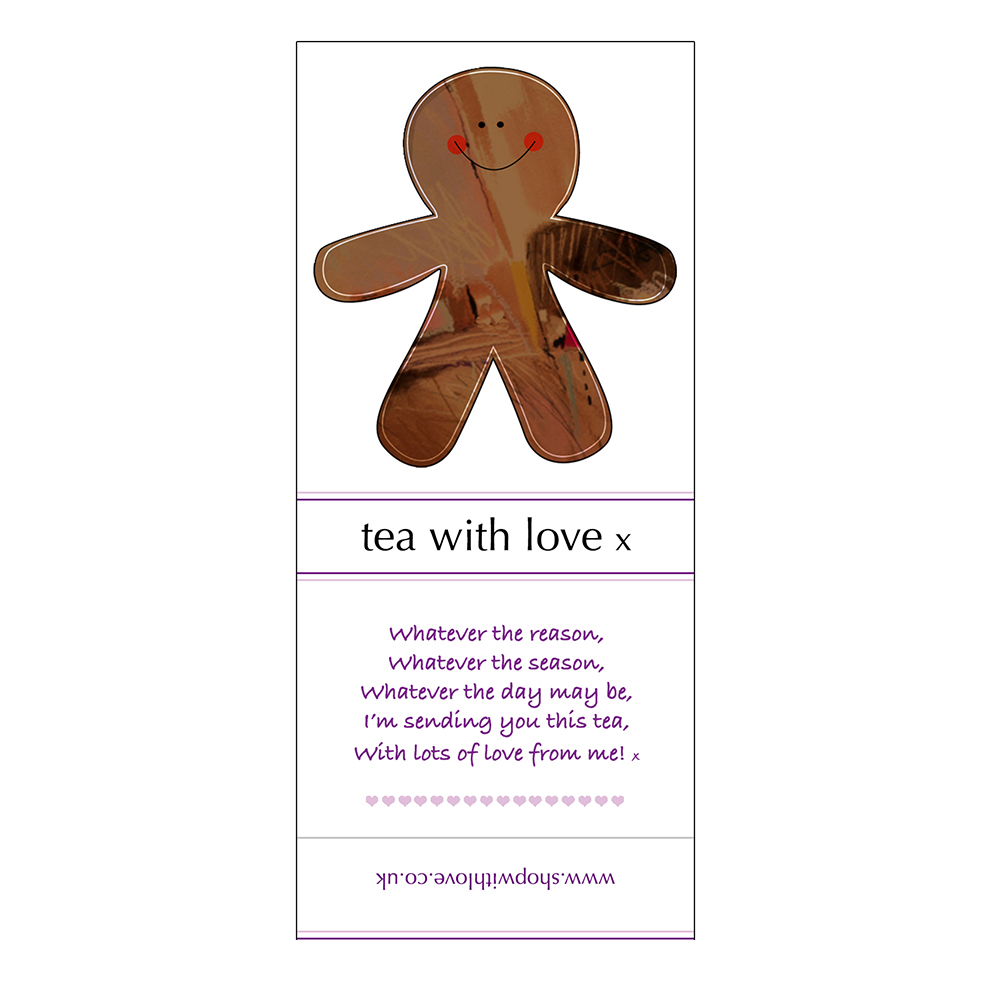 Tea with love Christmas Gingerbread