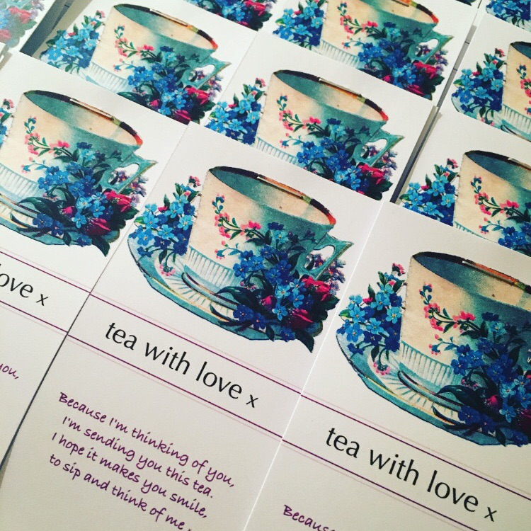 Tea with Love - Floral cup