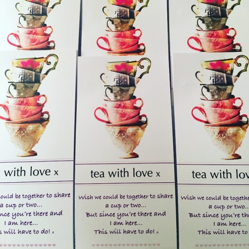 Tea with Love - Cup stack