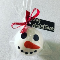 Bathbomb Snowman