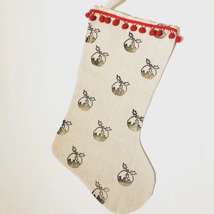 Christmas Stocking - Pudding