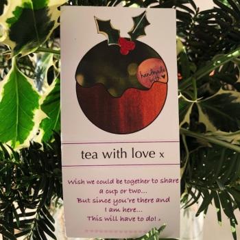 Tea with love Christmas Pudding