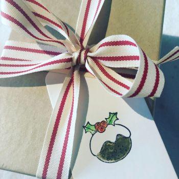 Gift tags - Xmas Pud