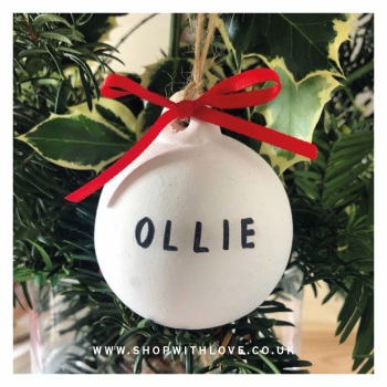 Baubles - Personalised
