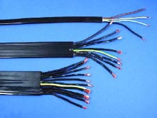 4 core 1.5mm: H07VVH6-F PVC Flat Cable