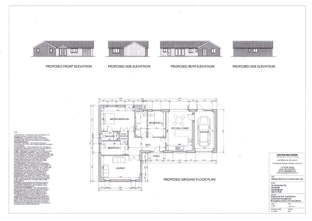 Individual bungalow design