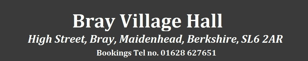 brayvillagehall, site logo.