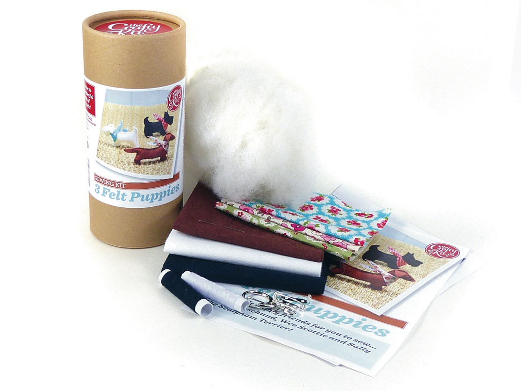 Felt Puppies Sewing Kit