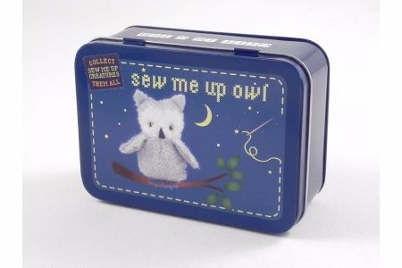 Sew Me Up- Owl, Gifts in a Tin