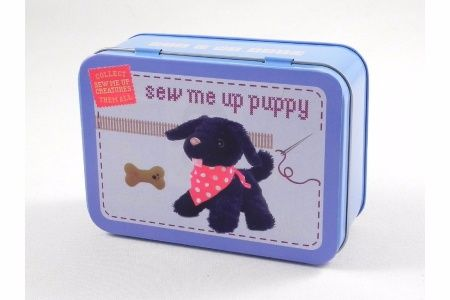 Sew Me Up- Puppy, Gifts in a Tin