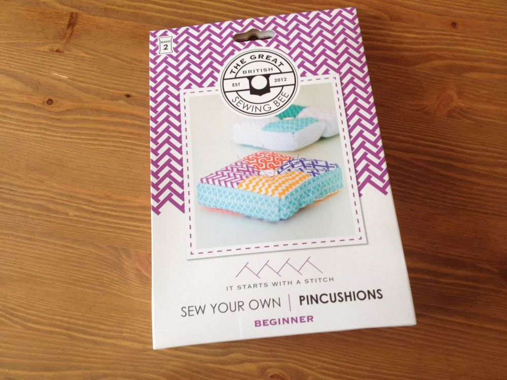The Great British Sewing Bee Pin Cushion