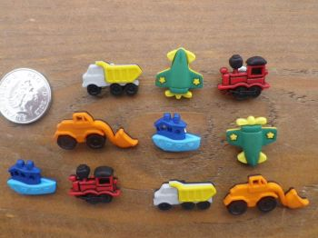 Dress It Up Buttons - Things That Go Zoom