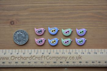 Dress It Up - Craft Buttons - Sew Cute Birds