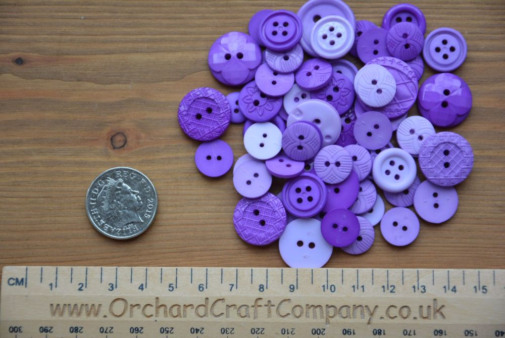Dress It Up -  Embellishments - Colour Me - Purple