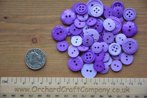Dress It Up -  Embellishments - Colour Me - Purple