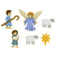 Dress It Up Buttons -  Good Shepherd