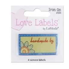Love Labels, Hand Crafted By