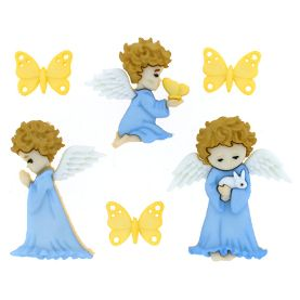 Dress it Up buttons, Cherished Angels