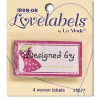 Love Labels, Designed by