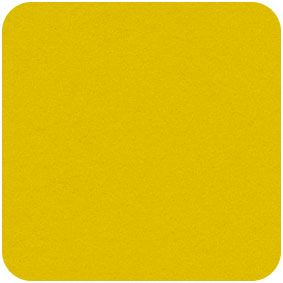 Acrylic Felt Craft Square Yellow