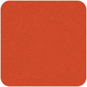 Acrylic Felt Craft Square Pumpkin Orange,