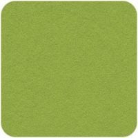 Acrylic Felt Craft Square Spring Green