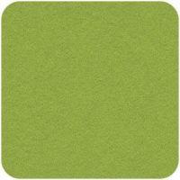 Acrylic Felt Craft Square Spring Green