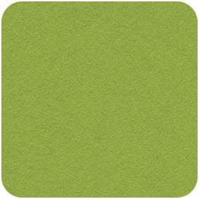 Spring Green,  Acrylic Felt Craft Square
