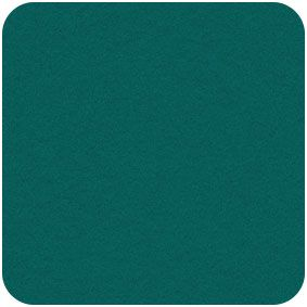 Teal, Acrylic Felt Craft Square