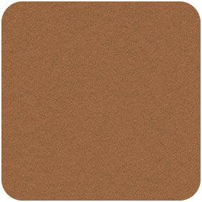 Acrylic Felt Craft Square  Teddy Brown,