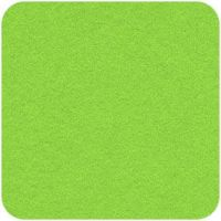 Acrylic Felt Craft Square Zest Green