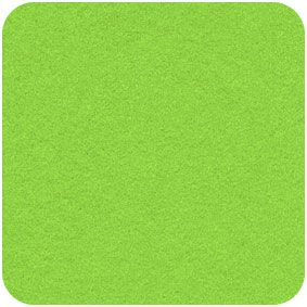 Zest Green,  Acrylic Felt Craft Square