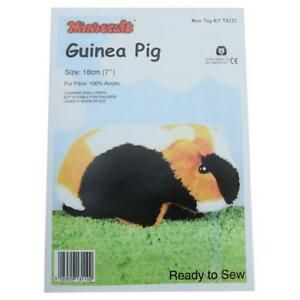 Guinea Pig  Soft Toy Making Kit