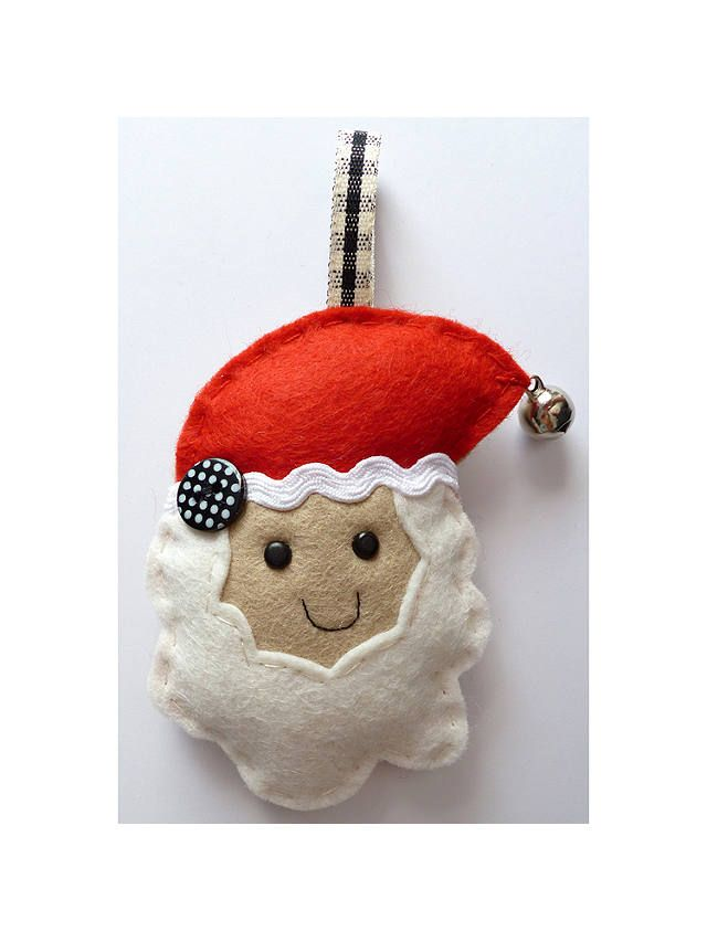 Sew Your Own Father Christmas Decoration Mini Kit