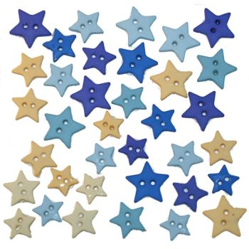 Dress It Up - Embellishments - Stars Evening Sky