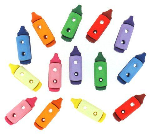 Dress It Up - Embellishments - Sew Cute Crayons
