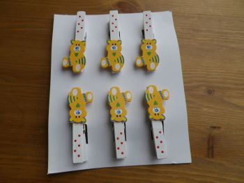 Blanket clips - Teddy Bear Themed