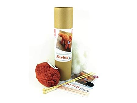 Farley Fox - Knitting Kit