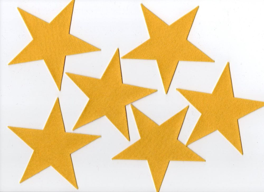 Felt Stars, Set of six