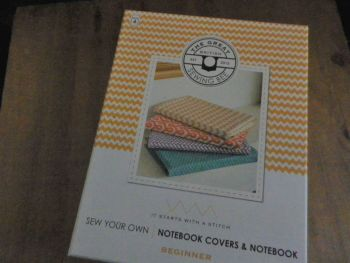 The Great British Sewing Bee, Sew Your Own Note Book Covers