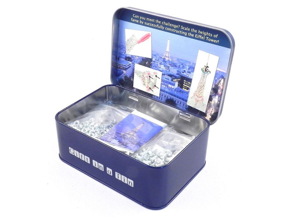 Eiffel tower, Gifts in a Tin