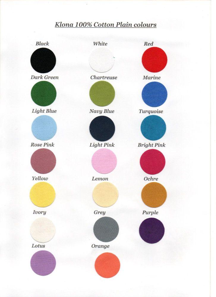 Circles plain colours