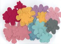 70 Felt Flower Shapes
