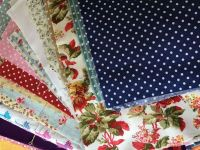 400g Pack Of 100% Cotton Fabric Pieces In Bundle For Crafting And Sewing