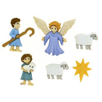 Dress it Up buttons, The Good Shepherd